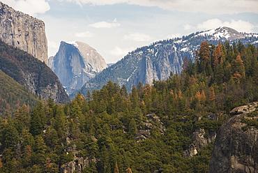 Half Dome, Yosemite National Park, UNESCO World Heritage Site, California, United States of America, North America