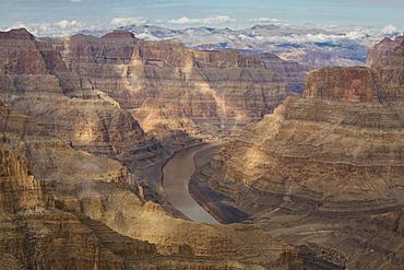 West Rim, Grand Canyon and Colorado River, UNESCO World Heritage Site, Arizona, United States of America, North America