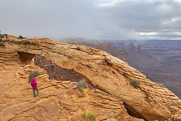 Mesa Arch, Canyonlands National Park, Moab, Utah, United States of America, North America