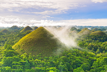 Chocolate Hills, Bohol, Central Visayas, Philippines, Southeast Asia, Asia