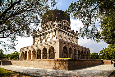 Qutab Sahi Heritage Park, Hyderabad, Andra Pradesh, India, Asia