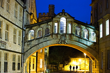 Bridge of Sighs, Oxford, Oxfordshire, England, United Kingdom, Europe