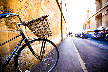 Bicycle, Oxford, Oxfordshire, England, United Kingdom, Europe