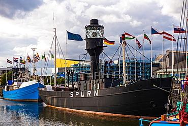 Spurn Lightship, Port of Hull, Yorkshire, England, United Kingdom, Europe