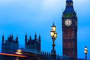 Big Ben, London, England, United Kingdom, Europe