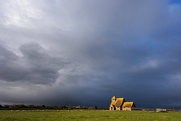 St. Thomas Becket Church, Fairfield, Romney Marsh, Kent, England, United Kingdom, Europe