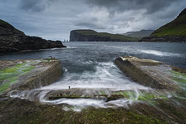 Slipway, Tjornuvik, Streymoy, Faroe Islands, Denmark, Atlantic, Europe