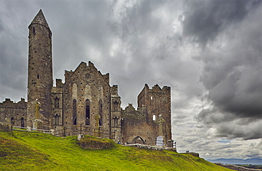 The ruins of the Rock of Cashel, Cashel, County Tipperary, Munster, Republic of Ireland, Europe