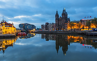 Basilica of St. Nicholas, Amsterdam, Netherlands, Europe