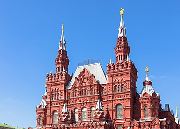 State Historical Museum in Red Square, UNESCO World Heritage Site, Moscow, Russia, Europe