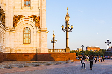 Cathedral of Christ the Saviour beside Moscow River, Moscow, Russia, Europe