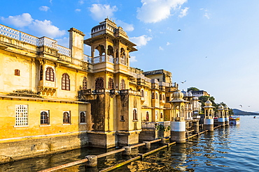 Gangaur Ghat, Udaipur, Rajasthan, India, Asia