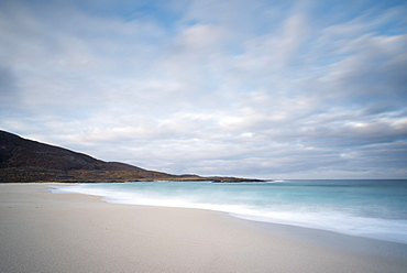 Dawn at Tangasdale Beach (Halaman Bay), Barra, Outer Hebrides, Scotland, United Kingdom, Europe
