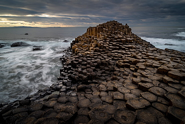 Giant's Causeway, UNESCO World Heritage Site, County Antrim, Northern Ireland, United Kingdom, Europe