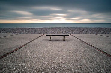 Bench, East Wittering, Sussex, England, United Kingdom, Europe