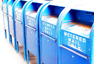 Mail boxes, United States of America, North America