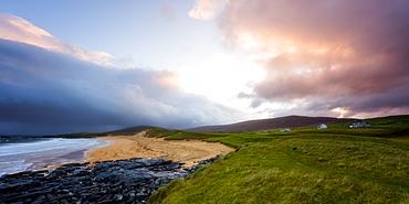 Sunrise on the Isle of Harris, Outer Hebrides, Scotland, United Kingdom, Europe