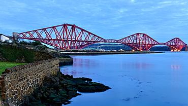 Forth Rail Bridge, UNESCO World Heritage Site, Scotland, United Kingdom, Europe