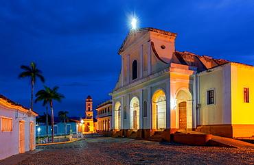 Santisima Trinidad Cathedral, Plaza Mayor, Trinidad, UNESCO World Heritage Site, Sancti Spiritus Province, Cuba, West Indies, Caribbean, Central America