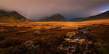 Buchaille Etive Mor, Glencoe, Scottish Highlands, Scotland, United Kingdom, Europe
