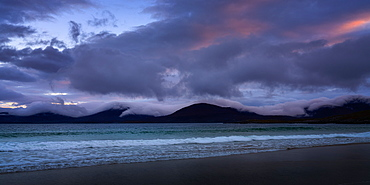 Sunrise at Luskentyre beach, Isle of Harris, Outer Hebrides, Scotland, United Kingdom, Europe