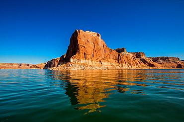 Beautiful Lake Powell, border of Arizona and Utah, United States of America, North America