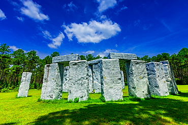 Stonehenge (Bamahenge), Barber Marina, Alabama, United States of America, North America