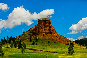 Scenic views in the Blackhills of Keystone, South Dakota, United States of America, North America