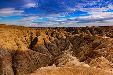 Breathtaking views in the Badlands, South Dakota, United States of America, North America