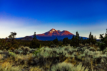 Beautiful view of Mount Shasta, California, United States of America, North America