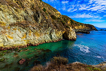 The beautiful hidden gem of Partington Cove off Highway 1, Big Sur, California, United States of America, North America