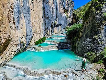 Natural Pools of Millpu, Ayacucho, Peru, South America