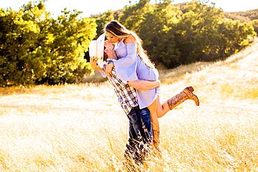 Young couple, Malibu, California, United States of America, North America