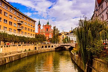Ljubljana, the capital of Slovenia, Europe