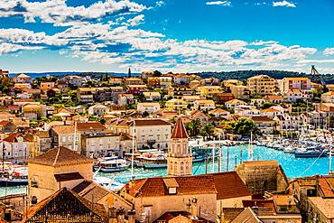 View of Trogir, Croatia, Europe