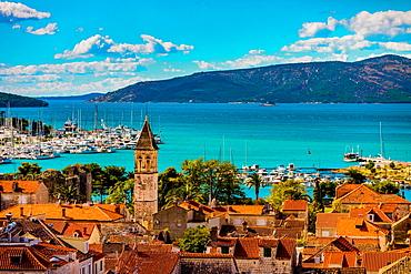 View of Trogir, UNESCO World Heritage Site, Croatia, Europe