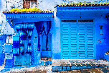 Blue City of Chefchaouen, Morocco, North Africa, Africa
