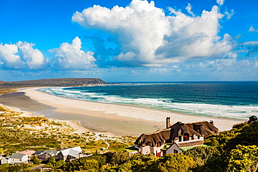 View of coast near Cape Town, South Africa, Africa
