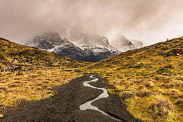 Stunning mountain scenery, Chile, South America
