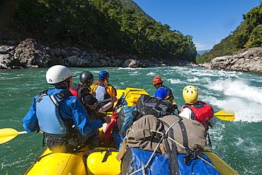 Karnali rafting trip, Karnali River, Nepal, Asia