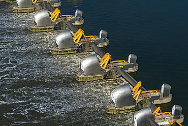 The Thames Barrier, London, England, United Kingdom, Europe