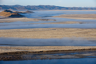 The Yellow River in Sichuan Province, the second longest river in China after the Yangtze, Sichuan, China, Asia