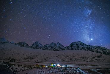 Ama Dablam Base Camp, Khumbu (Everest) Region, Nepal, Himalayas, Asia
