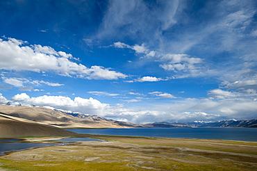 Tso Moriri lake, Ladakh, India, Asia