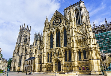 York Minster, one of the largest medieval cathedrals in Europe, York, North Yorkshire, England, United Kingdom, Europe