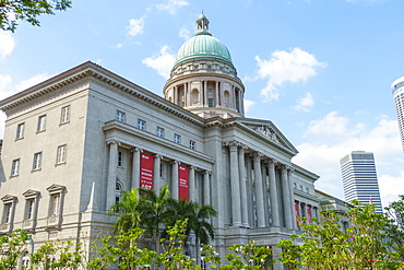 National Gallery Singapore occupying the former City Hall and Old Supreme Court Building, Singapore, Southeast Asia, Asia