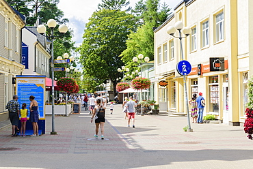 Jomas Street, Jurmala Beach, Gulf of Riga, Latvia, Europe