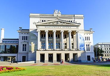 Opera House, Riga, Latvia, Europe