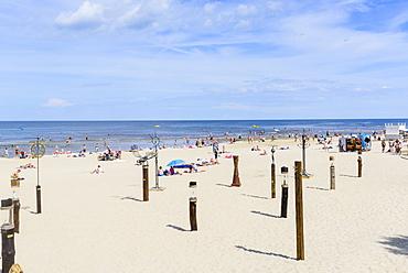 Jurmala Beach, Gulf of Riga, Latvia, Europe
