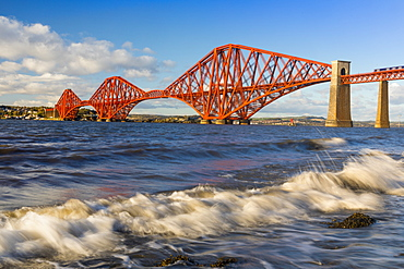 Forth Railway Bridge, UNESCO World Heritage Site, Firth of Forth, Scotland, United Kingdom, Europe